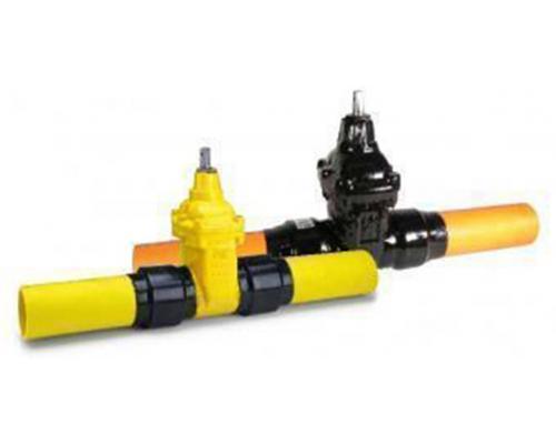 Задвижка AVK для газа серия 36/90 Ду 100/110 Ру 16
