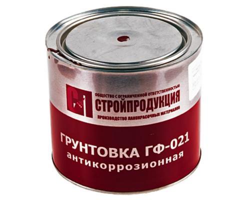 Грунтовка ГФ-021 2,5кг банка красный/коричневый ГОСТ 25129-82
