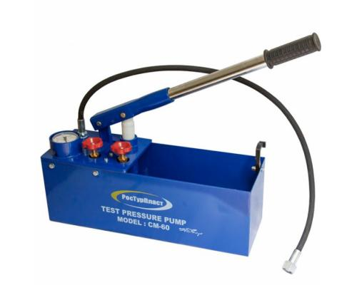 Насос ручной для опрессовки СМ-60 до 60 бар РосТурПласт 14472