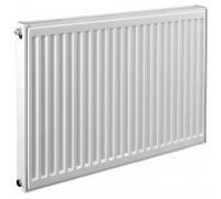 Радиатор стальной панельный VC 11 400х1300 нижнее в комплекте кронштейн. встроенный вентиль прав RAL 9016 Q (105/75/20C)=1258 Вт Heaton Smart