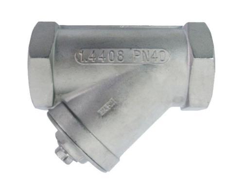 Фильтр стальной Y-образный нерж Y666 Ду 15 Ру40 ВР Danfoss 149B5273