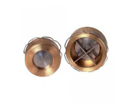Клапан обратный бронза VYC 172-01 Ду 125 Ру16 межфл ADL DS01A5516