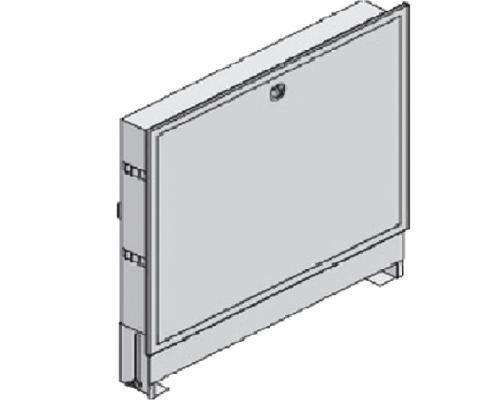 Шкаф коллекторный встроенный сталь Vario PT 820-910х565х120-180мм Uponor 1046991