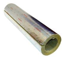 Цилиндр навивной ROCKWOOL 100 кашированный фольгой 30/76 L=1м ROCKWOOL