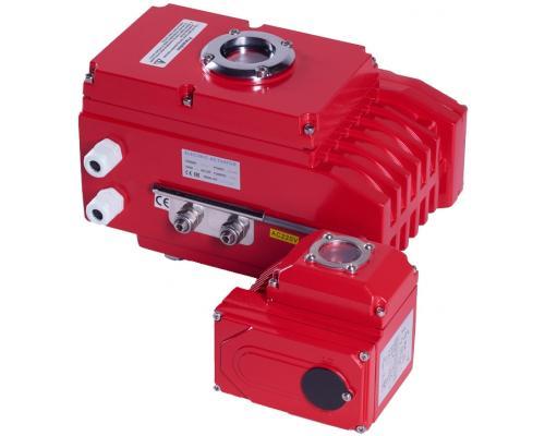 Электропривод RUSHWORK неполнооборотный 220V AC 900-220-030