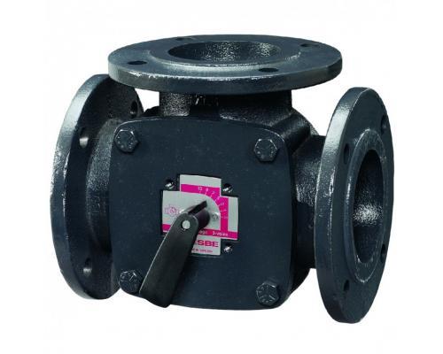 Клапан 3-х позиционный чугун 3F 3-ходовой Ду 40 Kvs=44,0 Esbe 11100400