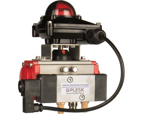 Блоки контроля положений арматуры PLESK P9107 (1/4 оборотные приводы) Р9107-8-24-AA1