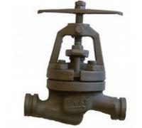 Клапан запорн сталь 15с52нж11 Ду 40 Ру63 п/привар ИКАР