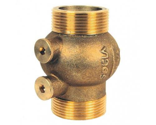 Клапан обратный латунь 223 Ду 15 Ру16 НР/НР Danfoss 149B2890