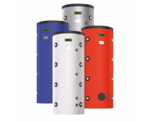 Бойлер косвенного нагрева 300л напольный HF Storatherm Heat для системы отопления c изоляцией Reflex