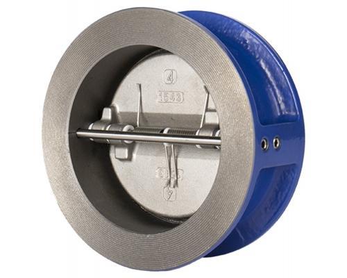 Клапан обратный двухстворчатый Genebre 2401 чугунный межфланцевый Ду 1002401 12
