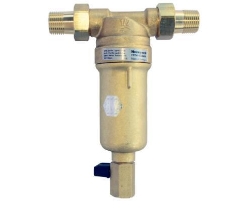 Фильтр сетчатый T-образный латунь FF06 с обратной промывкой Ду 15 Ру25 НР Honeywell FF06-1/2AAM