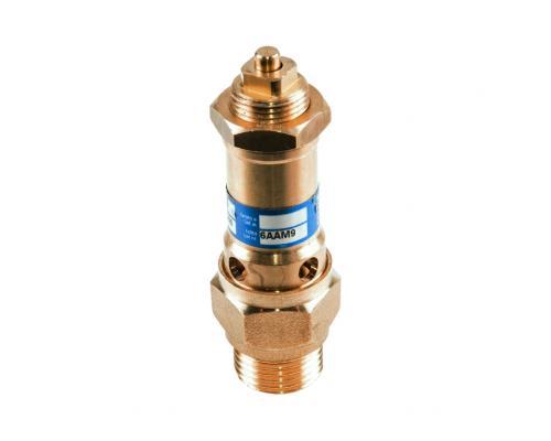 Клапан предохранительный латунь 1810 Ду 15 Рн0,5-16 НР OR 015