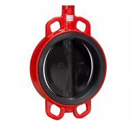 Затвор дисковый поворотный ЗПВЛ Гранвэл Ду 32 Ру16 межфл с рукояткой FLN(w)-5-032-MN-Е GGG40,CF8M,EPDM,-15.+95С с конц вык ADL BD01O151479