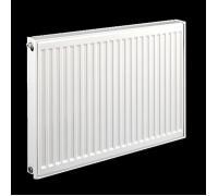 Радиатор стальной панельный C 21 300х1200 боковое RAL 9016 Q (105/75/20C)=1362 Вт Heaton Smart