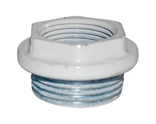 Заглушка для алюминиевых/биметаллических радиаторов Ду 25 б/прокладки лев белый Ogint