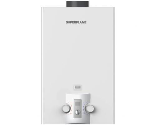 Водонагреватель газ проточный 10л 20кВт SuperFlame SF0320 лужёный Тульский ЗГО