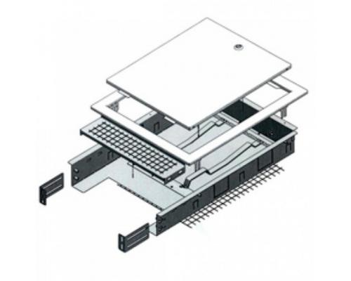 Шкаф коллекторный встроенный сталь R500-2 1000x650-740x85-130мм Giacomini R500Y224