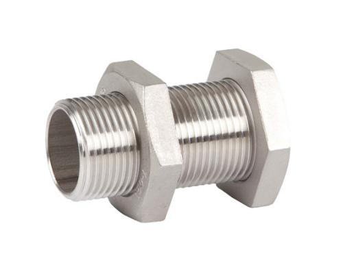 Внутристенное соединение GENEBRE 0285 нерж. сталь, резьбовой, Ру 20 Ду 10 Ру 20 0285 03