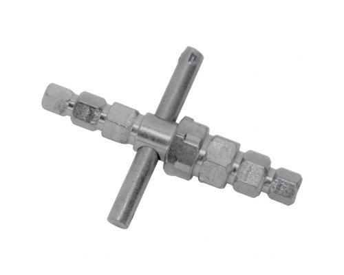 Ключ для разъемн соедин шестигранный универсальные РосТурПласт 10027