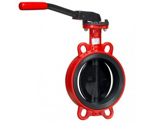 Затвор дисковый поворотный ЗПВС Гранвэл Ду 100 Ру16 межфл с рукояткой ADL FL(w)-3-100-MN-Е BD01I12792