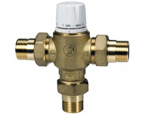 Клапан смесительн Ду 15 Ру10 с защитой от ожога НР/НР R156-2 Giacomini R156Y223