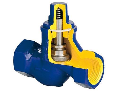 Клапан обратный подъемный ZETKAMA 277 чугунный резьбовой Ду 10 Ру 16 277A-010-C-31