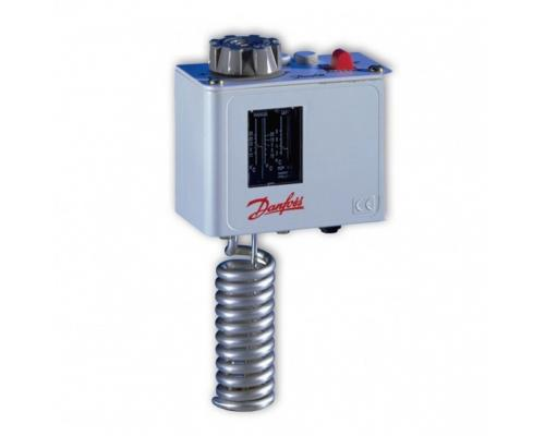 Реле температуры KP 61 c прямой капиллярной трубкой Danfoss 060L124966