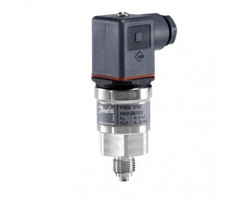 Преобразователь давления MBS 1700 G1/2 4-20 мА 0-10бар Danfoss 060G6101