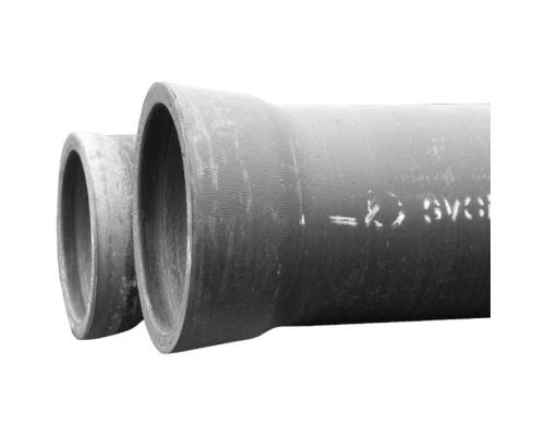 Труба чугун ВЧШГ Ду 100 нап L=5,8-6,0м с ЦПП б/комплекта Тайтон