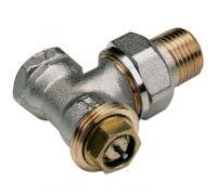 """Клапан термостатический 808E для двухтр никель Ду 15 Ру10 М22х1,5хR1/2"""" угловой НР гайка М28х1,5 Comap 808704"""