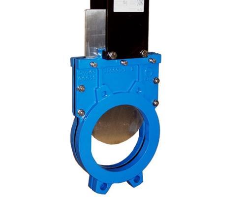 Задвижка шиберная СМО UB-01-ISO-E Чугунная межфланцевая, ISO-фланец с выдвижным штоком Ду 1000UB-012-01-1000 Ру 3-SsM-ISO-E