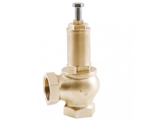 Клапан предохранительный латунь 1831 Ду 15 Рн0,5-16 ВР/ВР угл OR 1831.015