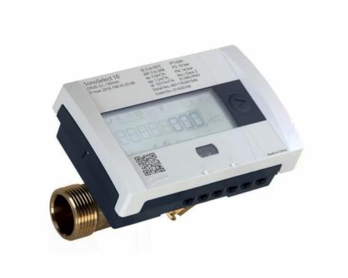 Теплосчетчик SonoSafe10 обратка Ду 15 Ру16 0,6м3/ч L=110мм 95C резьба Danfoss 014U0031P
