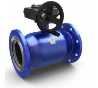 Кран шаровой стальной Energy Ду 500 Ру25 фл полнопроходной с редуктором LD КШ.Ц.Ф.Р.Energy.500.025.П/П.03