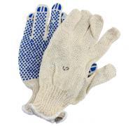 Перчатки хлопок №18 вязаные с покрытием (пара) ГОСТ 5007-87