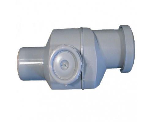 Клапан серый PP обратный для канализации Дн 50 в/к HL 4