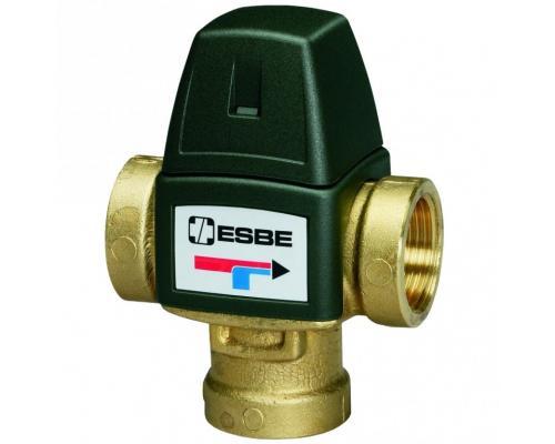 """Клапан термостатический смесительный латунь 3/4"""" ВР Kvs=1,6 VTA321 Esbe 31100700/3110079"""