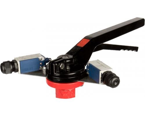 Блоки контроля положений арматуры PLESK P9300 (Ручное управление) Р9300-0-0-02 (на редуктор)