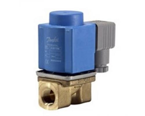 Клапан соленоидный  EV 220B, ДУ 10 мм, латунь, G 3/8, NBR, с катушкой 24 В, 50 Гц Danfoss (032U151816)