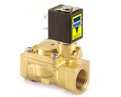 Клапан соленоидный L182B01-ZB10A 3/8 V24/50-60 Гц нормально закрытый непрямого действия Sirai (L182B1CYB10E7AW)