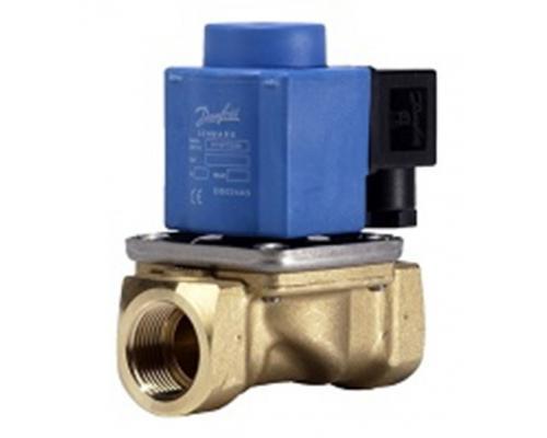 EV251B Клапан электромагнитный ДУ 10, латунь нормально закрытый Danfoss (032U538216)