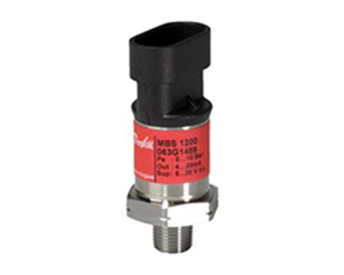 """Датчик давления Danfoss MBS 1200 ((0-10 бар)  G 1/4""""  4-20 мА (063G1061)"""