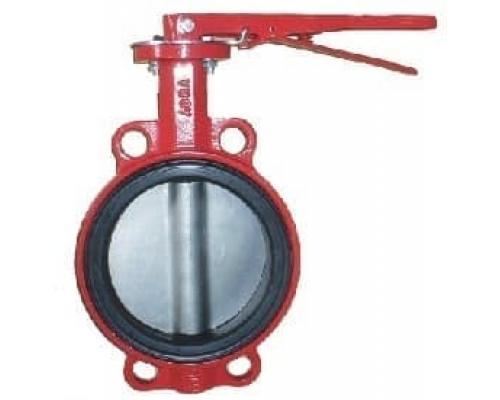 Затвор ABRA-BUV-VF866D050H Ру16 с рукояткой Ду 50 диск н/ж