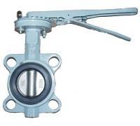 Затвор BUV-VF863D080H Ру16 с рукояткойNBR Ду 80 ABRA диск н/ж