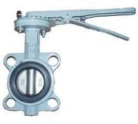 Затвор BUV-VF863D125H Ру16 с рукояткойNBR DN125 ABRA диск н/ж