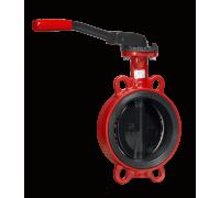 Дисковые поворотные затворы «Гранвэл» ЗПНЛ-FLN(W)-5-080-MN-N ДУ80 РУ16