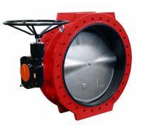Дисковые поворотные затворы «Гранвэл» ЗПСС-800х1,6 - FN(W)-3-800-MDV-E ДУ800 РУ16