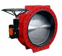Дисковые поворотные затворы «Гранвэл» ЗПСС-900х1,6 - FN(W)-3-900-MDV-E ДУ900 РУ16