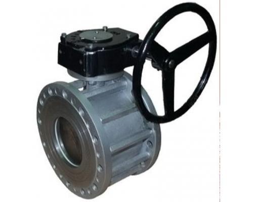 Кран BREEZE Silver фланец-фланец 11с342п Ру16 Ду200/150 с редуктором